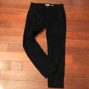 Fossil never worn ultra black pencil jeans / pants